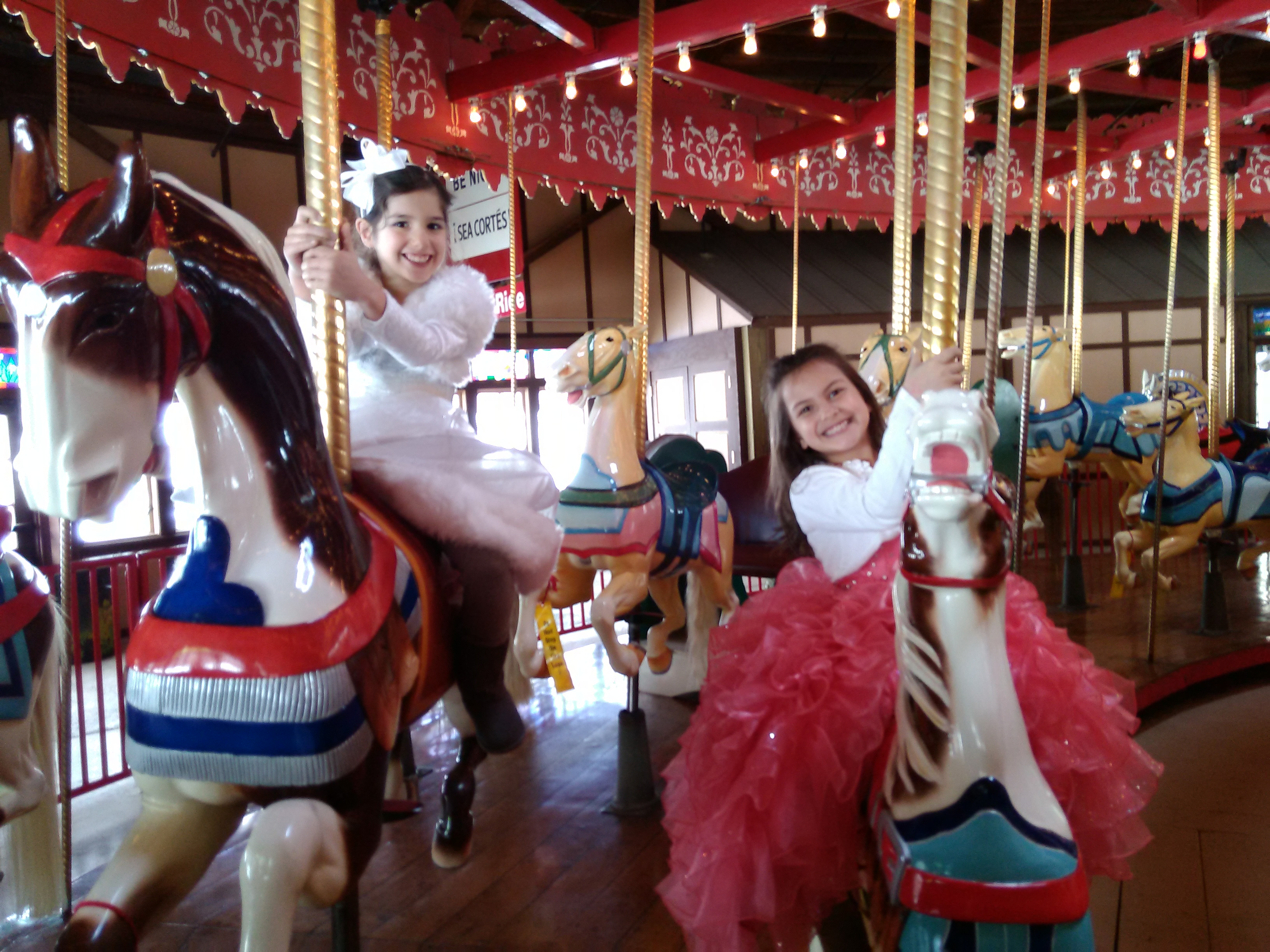 Birthday Parties at the Carousel