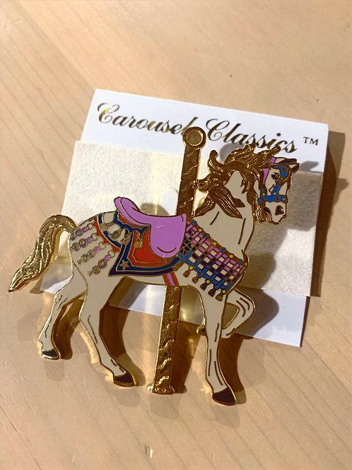 Purple Carousel pin