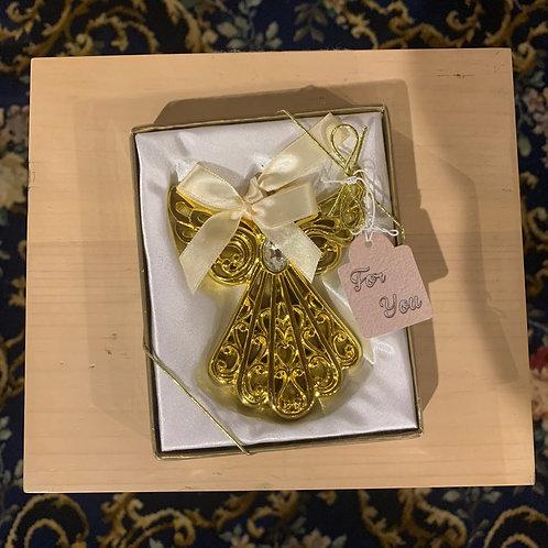 Gold Angel Ornaments