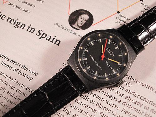 Women's 1970's Orfina Porsche Design PVD Automatic Watch
