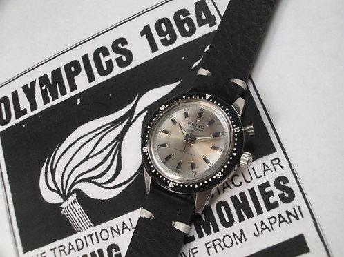 May 1964 Seiko 5719A/45899 Mono-Pusher Olympic Chronograph