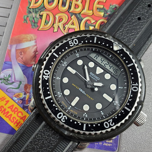 "1983 Seiko H558-5000 ""Arnie"" Quartz Multi-Function Watch"
