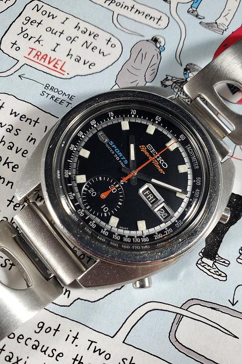 "1970 Seiko 6139-6011 SpeedTimer ""Bruce Lee"" Chronograph"