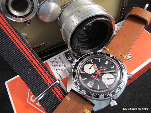 "Early 1970's Heuer Autavia 1163V ""Viceroy"""