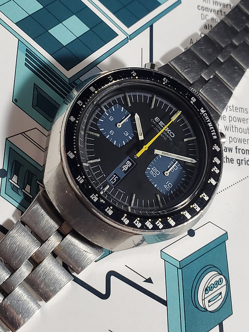 "1974 Seiko 6138-0040 JDM SpeedTimer ""Bullhead"" Chronograph Automatic"