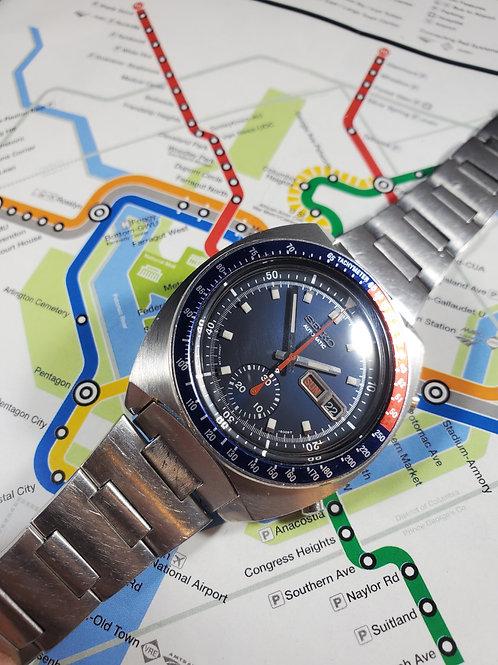 "1973 Seiko 6139-6005 ""Cevert"" Automatic Chronograph, w/Original Bracelet"