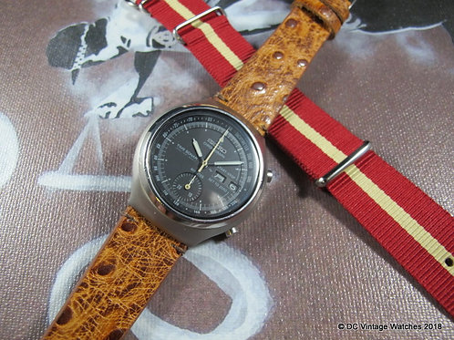 1970's Seiko 7018-6000 Time Sonar Automatic Chronograph