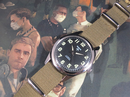 Modded HMT Military Mechanical Watch