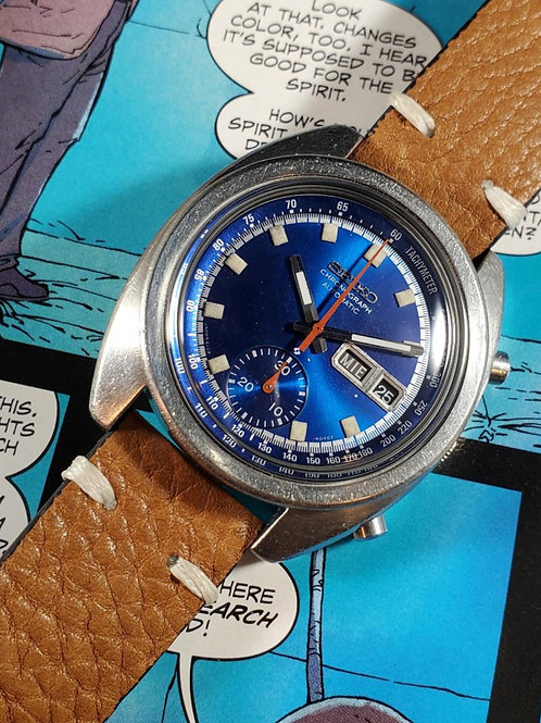 "1973 Seiko 6139-6012 ""Deep Blue"" Automatic Chronograph"