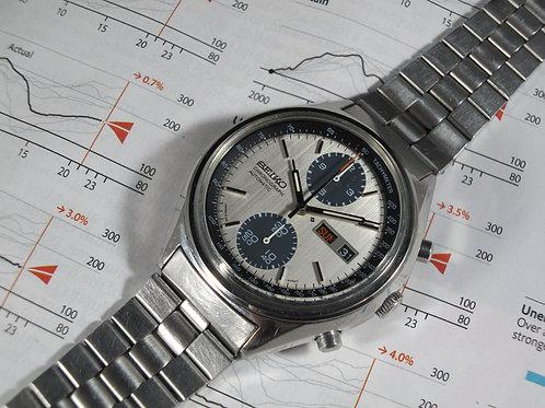"1977 Seiko 6138-8021 ""Panda"" Automatic Chronograph"