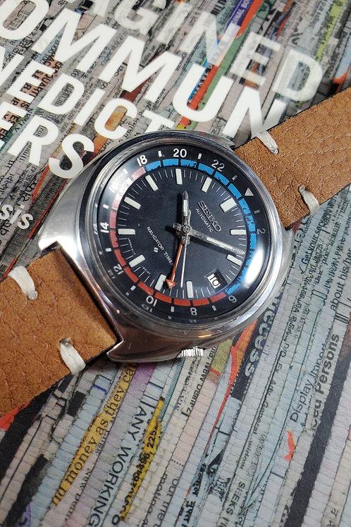 1974 Seiko 6117-6410 Navigator Timer GMT Automatic