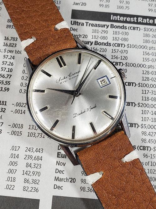 1950's Seiko Cronos J15010E Mechanical Watch