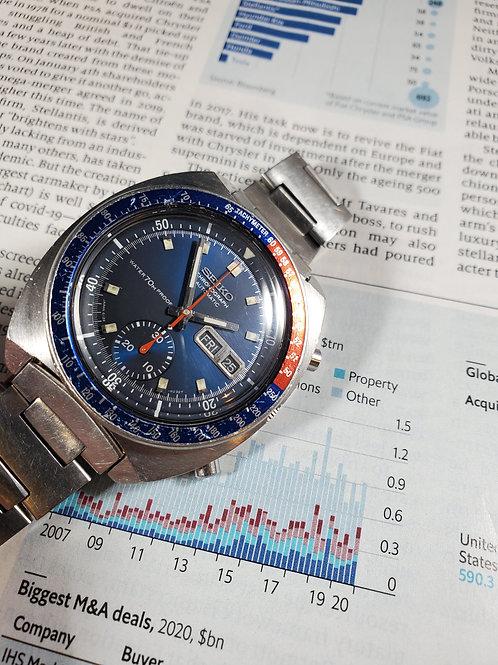 "1969 Seiko 6139A-6000 ""Cevert"" Proof/Proof Automatic Chronograph"
