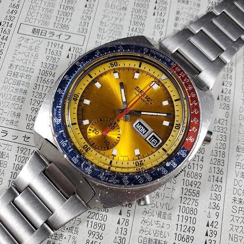 "1975 Seiko 6139-6005 ""Colonel Pogue"" Automatic Chronograph, w/Uncle Seiko H-Link"