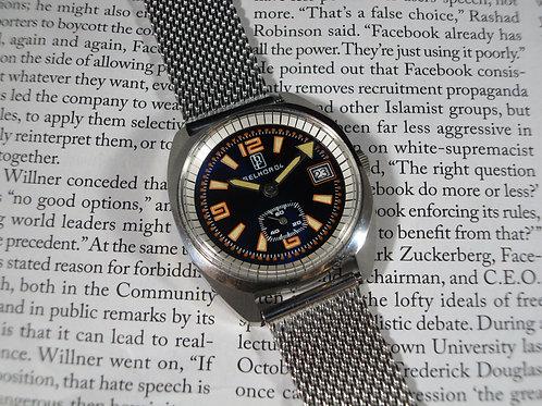 NOS 1960's Selhor Mechanical Dive Watch