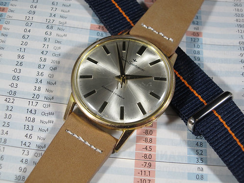 Ultra Thin 1960s Seiko Sportsmatic 15017 Automatic