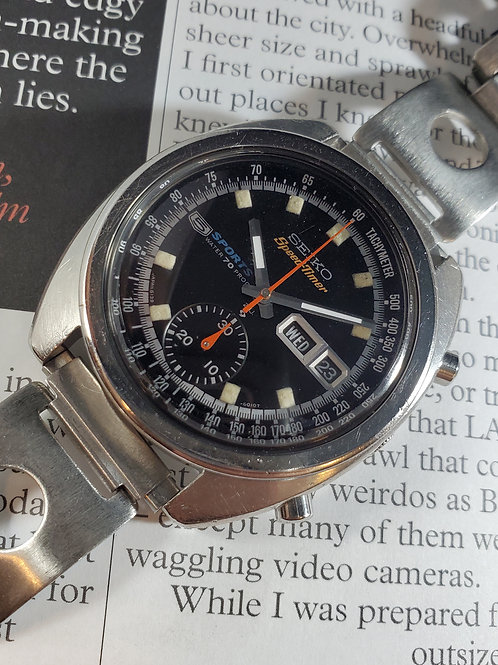 "1969 Seiko 6139-6010 SpeedTimer ""Bruce Lee"" Chronograph"