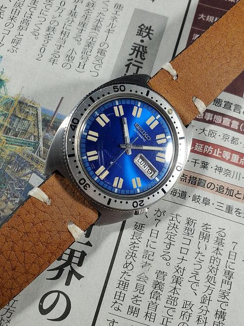 """1969 Seiko 6106-8100 """"Chevron"""" Automatic Sport Diver"""