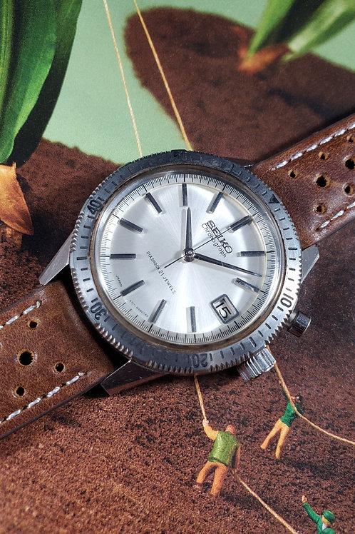 1964 Seiko 5717-8990 Mono-Pusher Olympic Chronograph