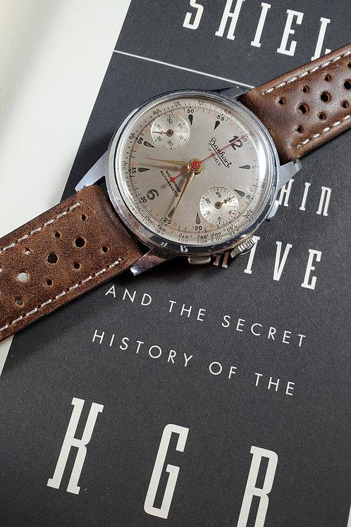 1950's Cold War Hanhart Wearable Microphone Spy Watch