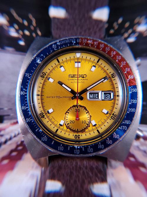 "1970 Seiko 6139-6001 ""Pogue"" Automatic Chronograph, Transitional"