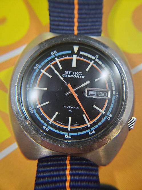 1972 Seiko 7019-6040 Automatic Sport Diver