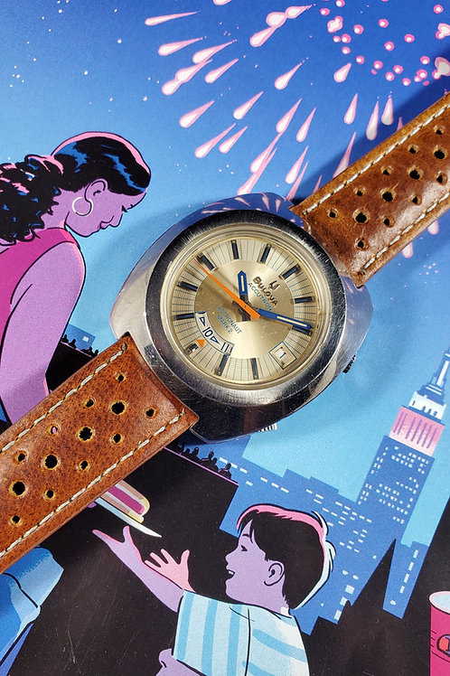1960s Bulova Accutron Astronaut Mark 2 Electric Watch