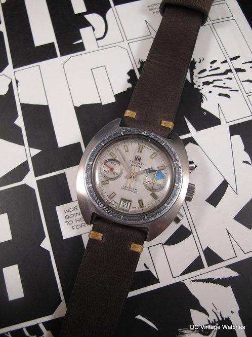 1970s Tissot Seastar Navigator Valjoux Chronograph