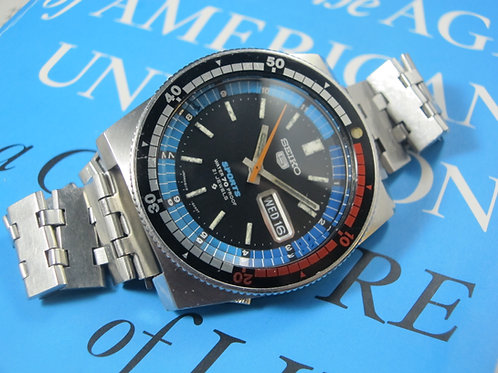"1969 Seiko 6119-6050 ""Rally"" Automatic Sports Diver"