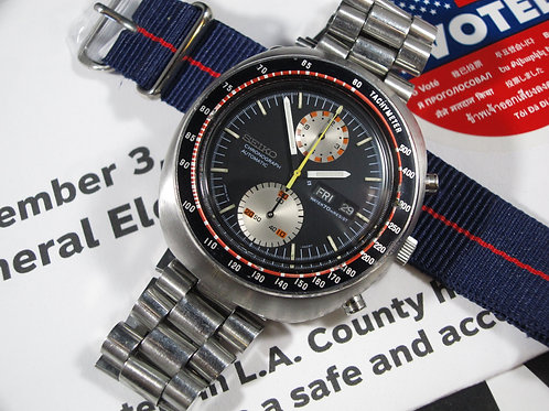 "1970 Seiko 6138-0019 Yachtman ""UFO"" Automatic Chronograph"