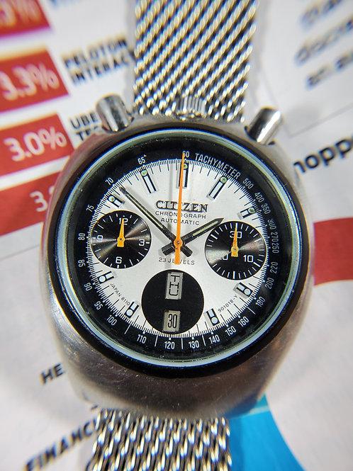 1977 Citizen 8110 Challenge Timer Bullhead Chronograph