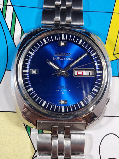 New-Old Stock 1969 Seiko 6106-6400 JDM Automatic, w/Price Tag & Instructions