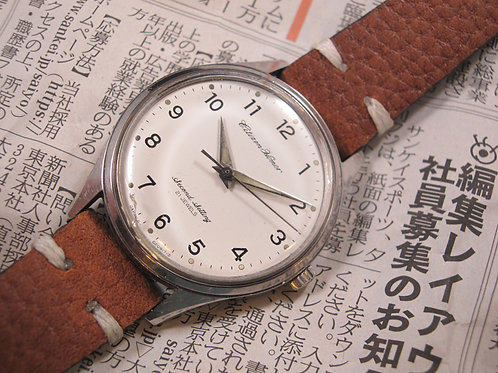 Japanese Railroad-Issue 1973 Citizen Homer Second Setting Mechanical Watch