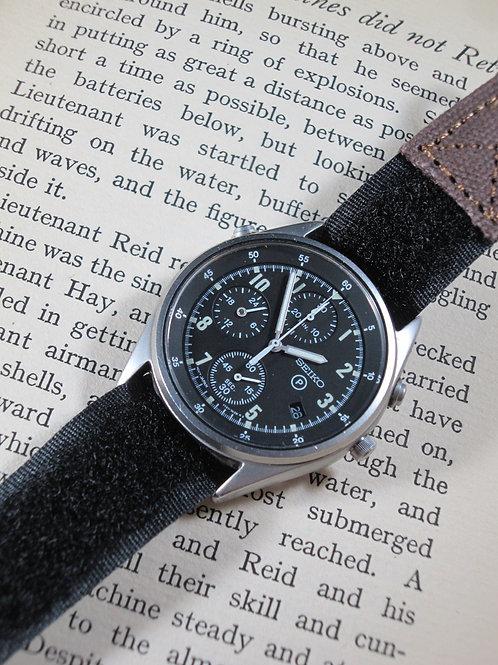 "1987 Seiko 7T27-7A20 ""RAF"" Gen 2 Chronograph"