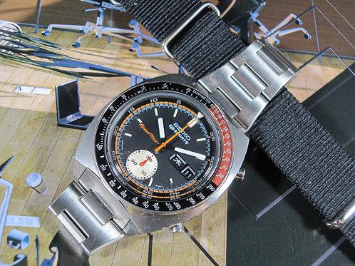 """1971 Seiko 6139-6032 """"Coke"""" SpeedTimer Automatic Chronograph"""