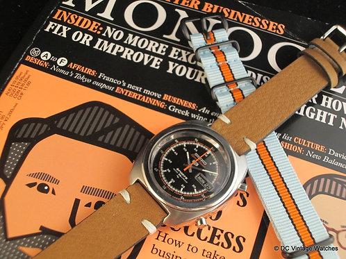 1970 Seiko 7017-8000 Speedtimer Chronograph