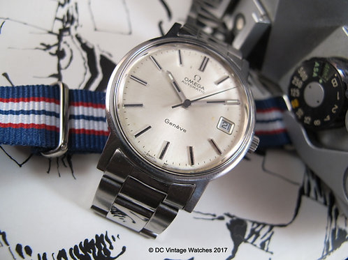 1970's Omega 166.0163 Calibre 1012 Automatic Watch