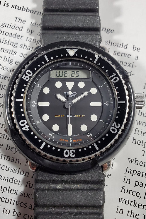 "1982 Seiko H558-5000 ""Arnie"" JDM Quartz Multi-Function Watch"