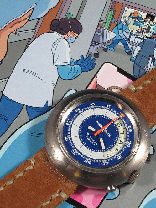 1970's Memosail Regatta Valjoux Manual Chronograph