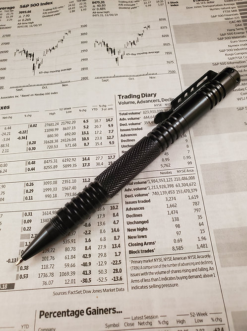 DCVW Stainless Steel Tactical Writing Pen