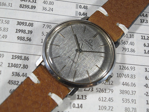 Ultra Thin 1960's Omega De Ville Ref. 161.024 Cal. 711 Automatic Dress Watch