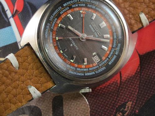 1972 Seiko 6117-6400 World Time GMT Automatic