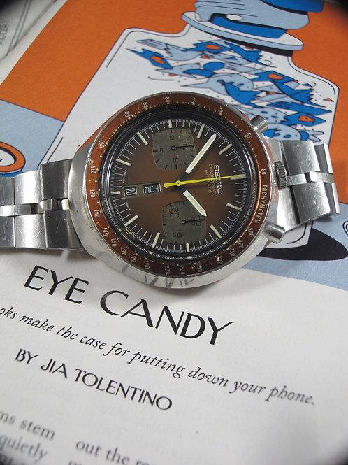 "1976 Seiko 6138-0049 ""Bullhead"" Chronograph"