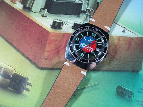 1960's Les Routiers Mechanical Dive Watch