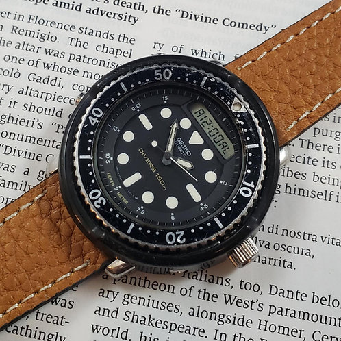 "1985 Seiko H558-5009 ""Arnie"" Quartz Multi-Function Watch"