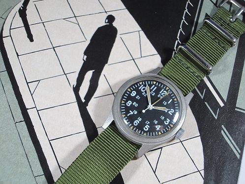 1978 Hamilton GG-W-113 U.S. Military-Issued Mechanical Watch