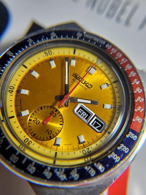 """1973 Seiko 6139-6005 """"Pogue"""" Automatic Chronograph"""