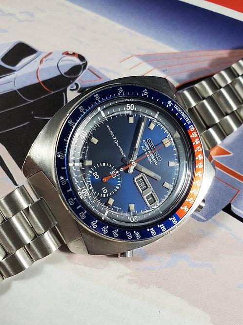 "1970 Seiko 6139-6000 ""Cevert"" Proof/Proof Automatic Chronograph"
