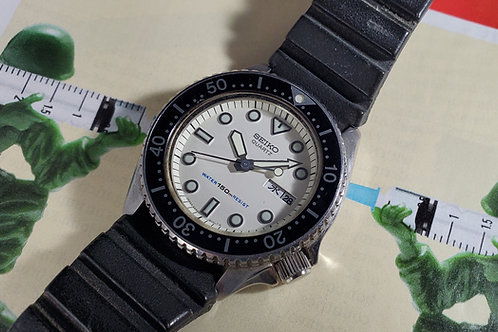 1984 Seiko 6458-600B Mid-Size Diver, w/Box and Instrucitons