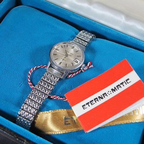 1960s Eterna Matic Sahida Woman's Mechanical Watch, w/Original Box and Manual